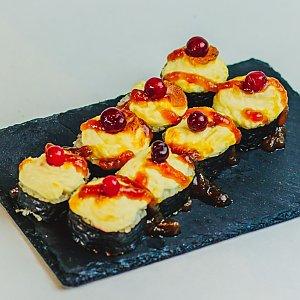 Запеченный ролл с лососем и морским окунем, Pizza Smile - Брест