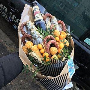Вкусный букет для настоящего мужчины, FRESH FLOWERS