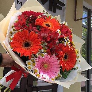 Яркий букет из гербер , FRESH FLOWERS