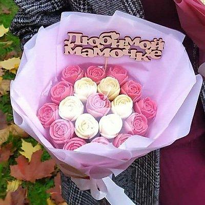 Заказать Букет из 19 шоколадных роз, CHOCO TIME