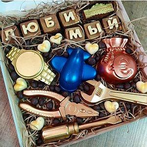 Шоколадная композиция Любимый, CHOCO TIME