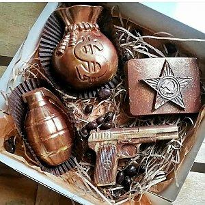 Шоколадная композиция Военный, CHOCO TIME