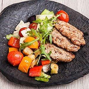 Теплый салат из телятины, Ташкент