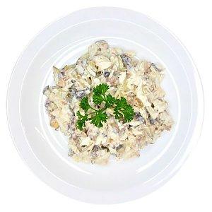 Салат из птицы с грибами, Ирина-Сервис - Обеды