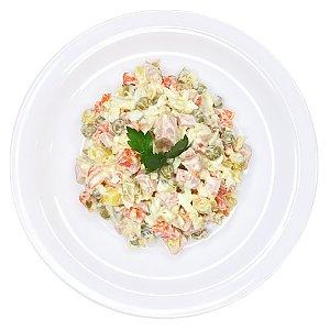 Салат овощной с колбасой, Ирина-Сервис