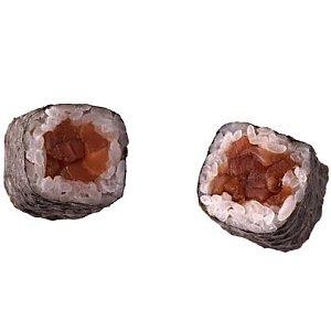 Ролл копченый лосось, City Sushi