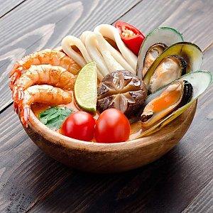 Суп Том Ям с кокосовым молоком, Суши Хата