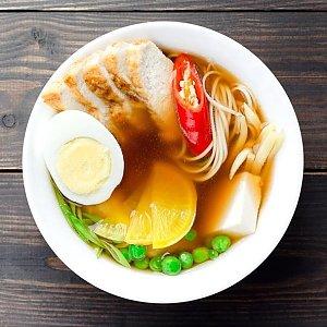 Суп Рамен с курицей, Суши Хата