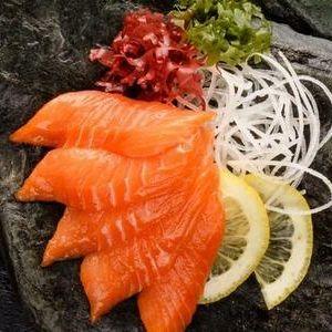 Сашими с лососем, SUSHI SUN