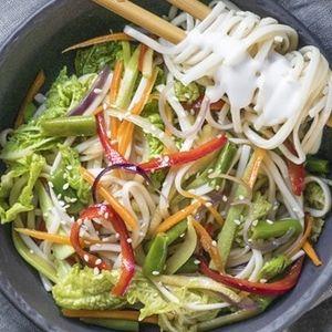 Пшеничная с овощами, SUSHI SUN