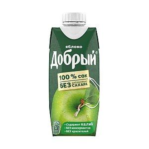 Добрый яблочный сок 0.33л, Skovoroda