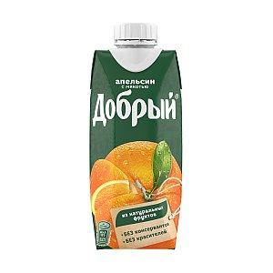 Добрый апельсиновый сок 0.33л, Skovoroda