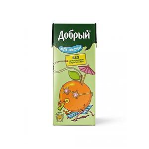 Добрый апельсиновый сок 0.2л, Skovoroda