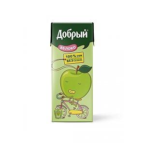 Добрый яблочный сок 0.2л, Skovoroda
