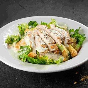 Салат Цезарь с куриной грудкой, TGI Fridays