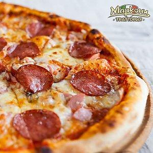 """Пицца """"4 мяса"""" 35см, Траттория Маркони"""