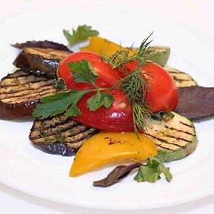 Овощи гриль, Траттория Маркони