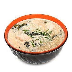 Острый суп с лососем, Tokyo Sushi