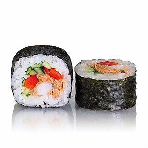 Лосось терияки с креветкой, Tokyo Sushi