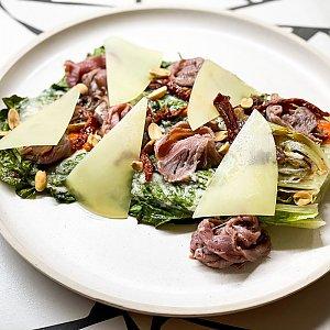 Теплый салат с ростбифом и печеным перцем, ПНВИ