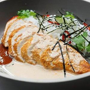 Имбирный цыпленок с рисом, ПНВИ