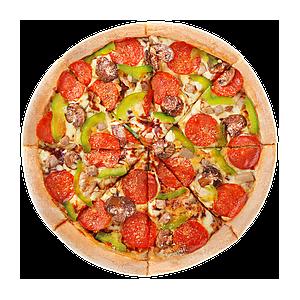 Пицца Барбекю Делюкс 22см, Домино'с - Гомель