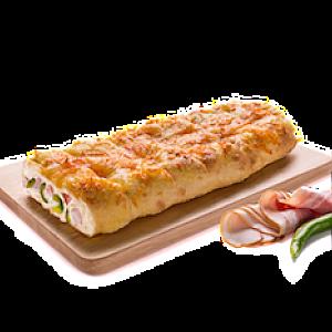 Хлебец с беконом и халапеньо, Домино'с - Бобруйск