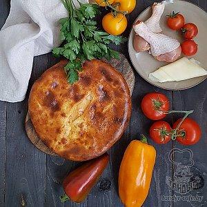Осетинский пирог с курицей (1000г), Тандыр