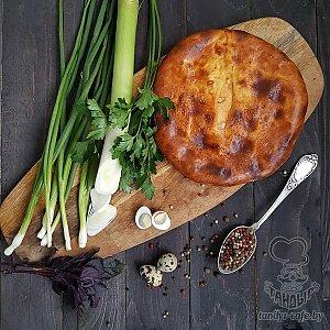 Осетинский пирог с яйцом, зеленью и луком (1000г), Тандыр