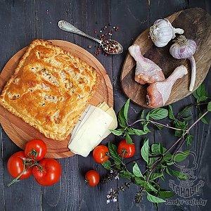 Тандыровский пирог с курицей (1000г), Тандыр