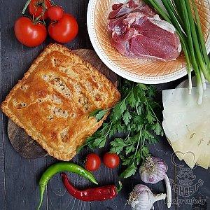 Тандыровский пирог с говядиной (1000г), Тандыр