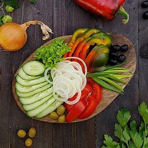 Ассорти из свежих овощей, Тандыр