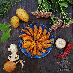Картофель запеченный на углях, Тандыр
