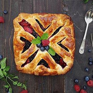 Пирог со свежими ягодами, Тандыр