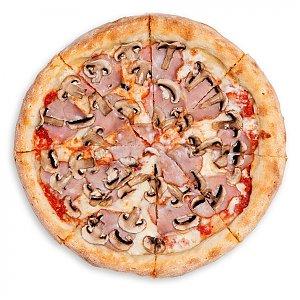 Пицца Грибы и Ветчина 35см, Pizza Planet