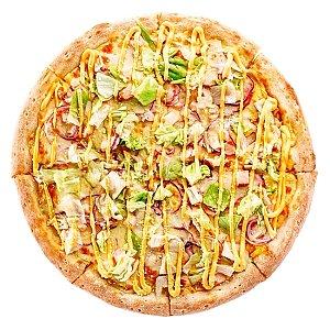 Пицца Двойной чизбургер 35см, Pizza Planet