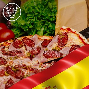 Пицца Испания 35см, Global Pizza