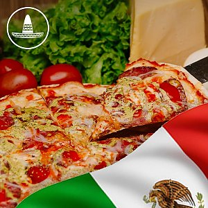 Пицца Мексика (острая) 35см, Global Pizza