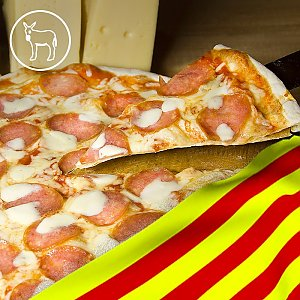 Пицца Каталония 35см, Global Pizza