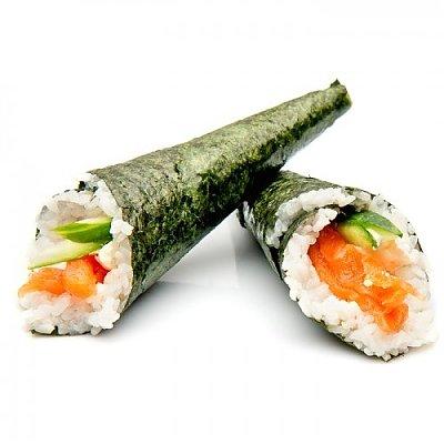 Заказать Темаки с лососем, Суши Тут