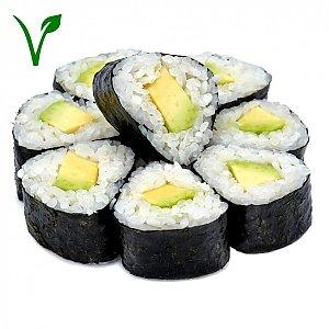 Хосо маки с авокадо, NAKA SUSHI