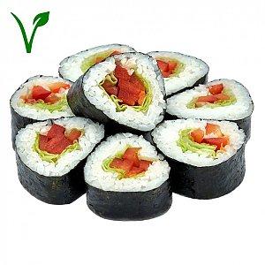 Ролл с перцем и салатом, NAKA SUSHI