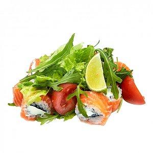Салат с мини-роллом, NAKA SUSHI