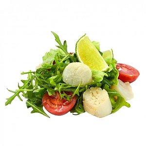 Салат с жаренным гребешком, NAKA SUSHI