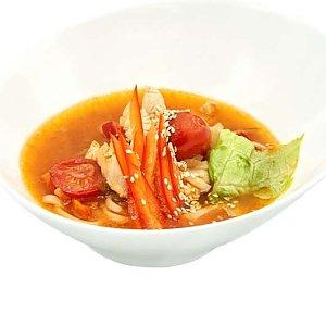 Китайский острый суп с лапшой, NAKA SUSHI