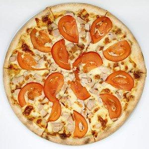 Пицца Сырный Цыпленок 34см, Пицца Корица