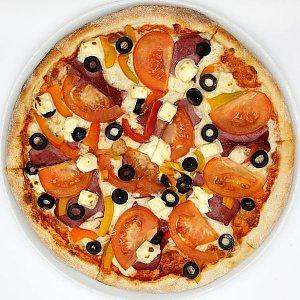 Пицца Греческая 34см, Пицца Корица