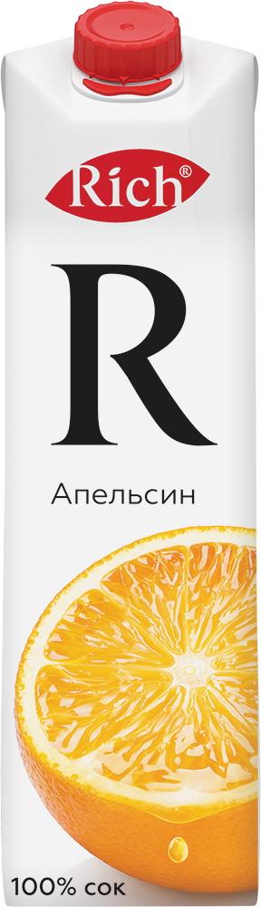 Купить Сок Rich Апельсин 1л, Кафе Закуток