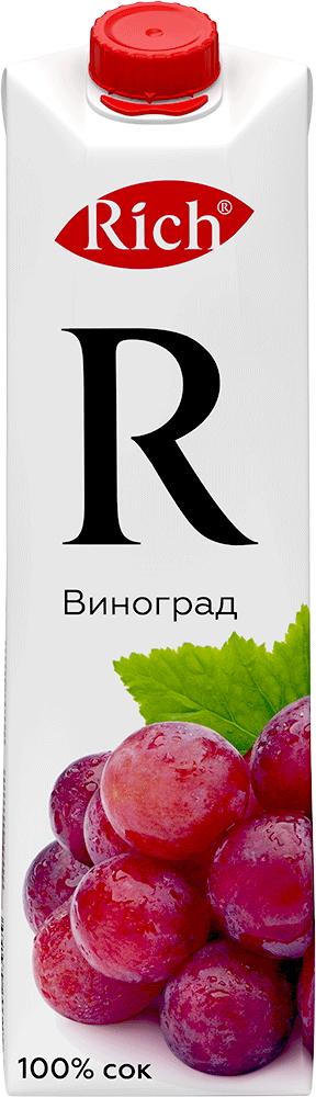Купить Сок Rich Виноград 1л, Кафе Закуток