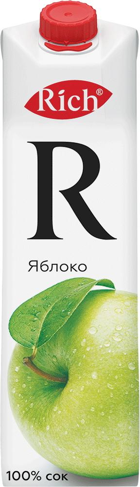 Купить Сок Rich Яблоко 1л, Кафе Закуток